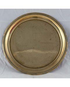 Frederick Smith Round Brass
