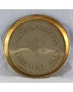 Phillip's & Marriott Ltd Round Brass
