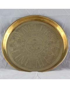 Waller & Son Ltd Round Brass