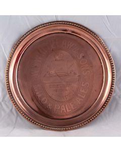 William Whitelaw & Sons Round Copper