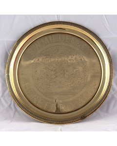 R.W.Miller & Co Round Brass