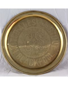 Catterall & Swarbrick's Brewery Ltd Round Brass