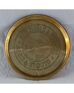 Mitchells & Butlers Ltd Round Brass