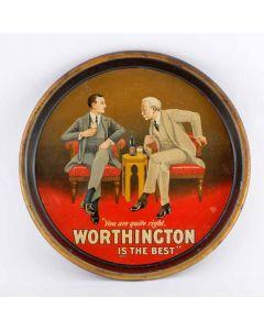 Worthington & Co Ltd Round Black Backed Steel