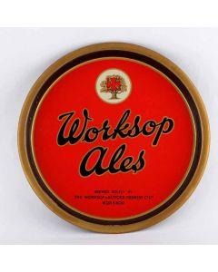 Worksop & Retford Brewery Co Ltd Round Black Backed Steel