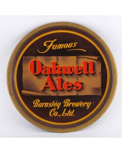 Barnsley Brewery Co. Ltd Round Black Backed Steel