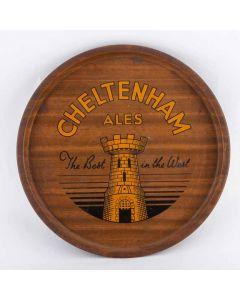 Cheltenham Original Brewery Co. Ltd Round Black Backed Steel
