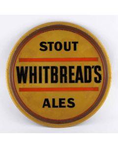 Whitbread & Co Ltd Round Black Backed Steel