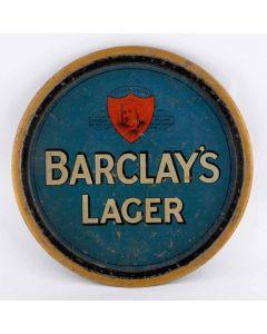 Barclay, Perkins & Co Ltd Round Black Backed Steel