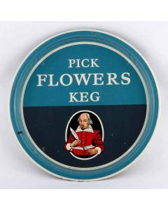 Flowers Breweries Ltd (Owned by Whitbread & Co Ltd) Small Round Tin