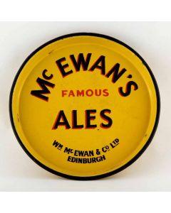 William McEwan & Co Ltd Small Round Enamel