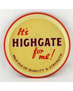 Highgate & Walsall Brewery Co. Ltd Round Tin