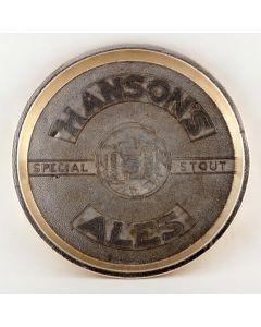 Julia Hanson & Sons Ltd (Owned by Wolverhampton & Dudley Breweries Ltd) Round Tin