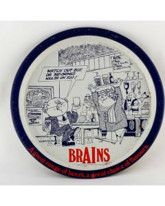 S.A.Brain & Co Ltd Round Tin