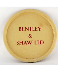 Bentley & Shaw Ltd (Part of Hammond's United Breweries Ltd) Round Tin