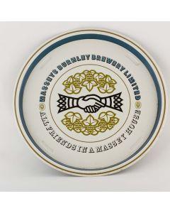 Massey's Burnley Brewery Ltd Round Tin