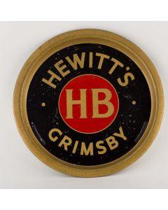 Hewitt Brothers Ltd Round Tin
