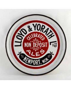 Lloyd & Yorath Ltd Round Enamel