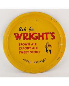 John Wright & Co (Perth) Ltd Round Tin