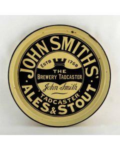 John Smith's Tadcaster Brewery Co. Ltd Round Enamel