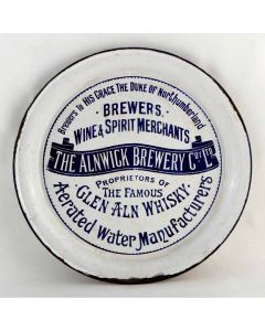 Alnwick Brewery Co Ltd Round Enamel