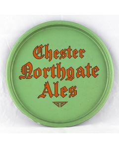 Chester Northgate Brewery Co. Ltd Round Black Backed Steel