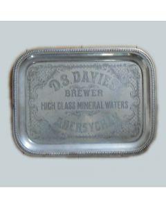 Daniel S.Davies Small Rectangular Chrome
