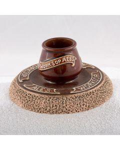 Worksop & Retford Brewery Co Ltd Ceramic Matchstriker