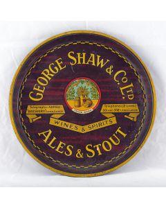 George Shaw & Co. Ltd Round Black Backed Steel