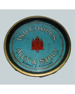 Ind Coope & Co. Ltd Round Black Backed Steel