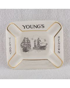 J.J.Young & Sons Ltd (Owned by George Peters & Co. Ltd) Ceramic Ashtray
