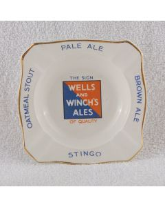 Wells & Winch Ltd Ceramic Ashtray