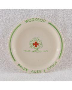 Worksop & Retford Brewery Co Ltd Ceramic Ashtray