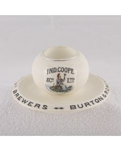 Ind Coope & Co. Ltd Ceramic Matchstriker