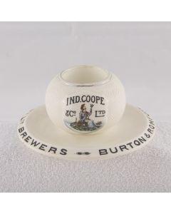 Ind Coope & Co Ltd Ceramic Matchstriker