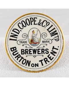 Ind Coope & Co Ltd Ceramic Coaster