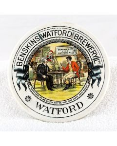 Benskin's Watford Brewery Ltd Ceramic Coaster