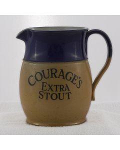 Courage & Co. Ltd Ceramic Jug (Tall)