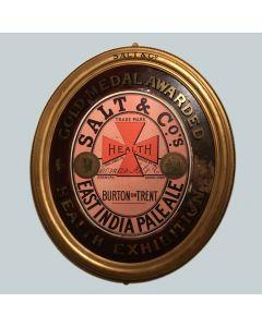 Thomas Salt & Co Ltd Glass Showcard