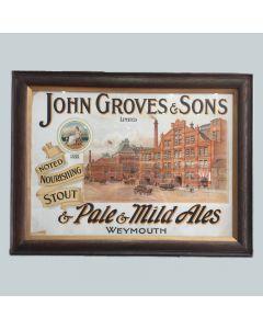 John Groves & Sons Ltd Showcard