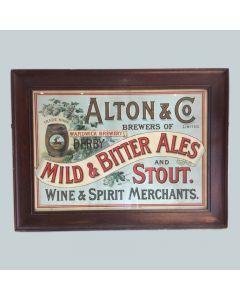 Alton & Co. Ltd Showcard
