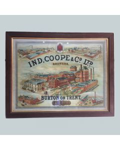 Ind Coope & Co. Ltd Showcard