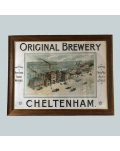 Cheltenham Original Brewery Co. Ltd Showcard