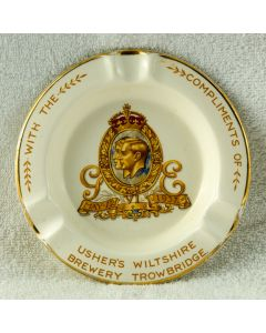Usher's Wiltshire Brewery Ltd Ceramic Ashtray