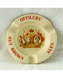 Offilers' Brewery Ltd Ceramic Ashtray