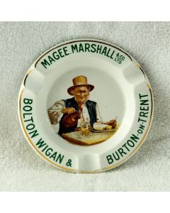 Magee, Marshall & Co. Ltd Ceramic Ashtray