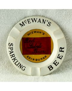 William McEwan & Co Ltd Ceramic Ashtray