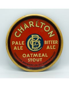 Charlton Brewery Co. Ltd Round Black Backed Steel