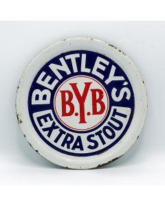 Bentley's Yorkshire Breweries Ltd Round Enamel
