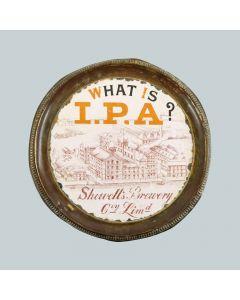 Showell's Brewery Co Ltd Round Enamel/Brass